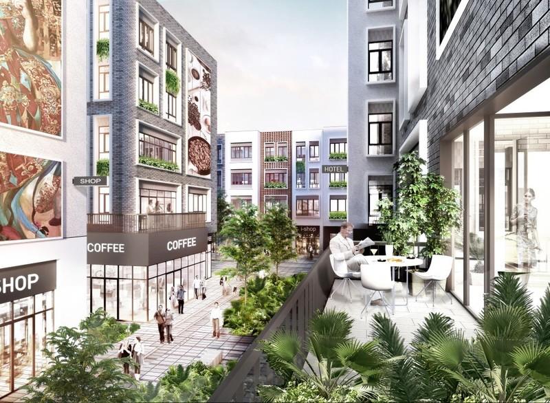 The Edge, Srah Chak, Phnom Penh   New Development for sale in Daun Penh Srah Chak