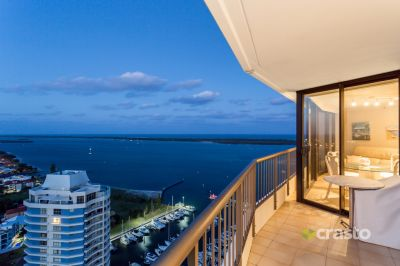 SPECTACULAR BROADWATER LIVING + 2 CAR SPACES