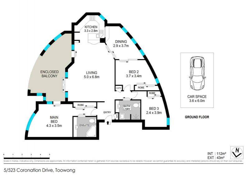 5/523 Coronation Drive Toowong 4066