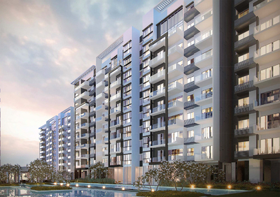 Axis  Residences, Teuk Thla, Phnom Penh   New Development for sale in Sen Sok Teuk Thla img 0