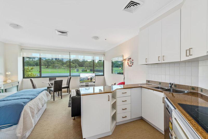 Executive oversized, bright, fully furnished Studio apartment
