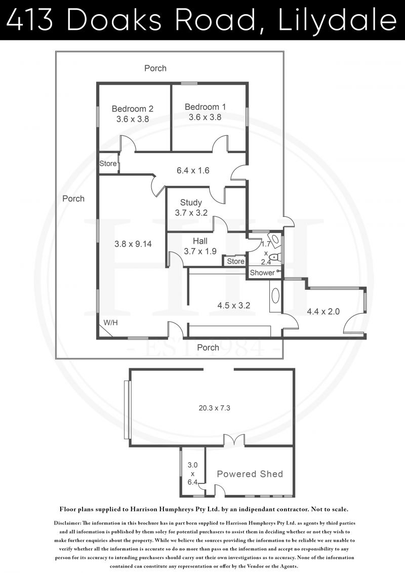 413 Doaks Road Floorplan