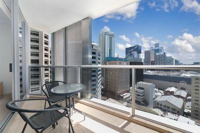Furnished 1 bedroom plus study in the heart of the CBD
