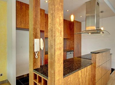 Executive apartment with Parkland views.