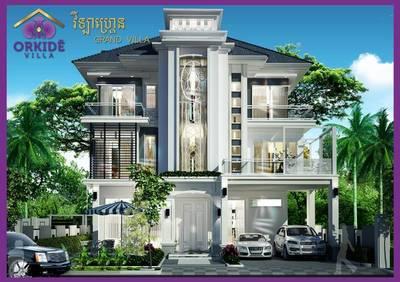 Orkide  Villa , Teuk Thla, Phnom Penh | Borey for sale in Sen Sok Teuk Thla img 1