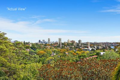 Freestanding Home offers Picturesque Sydney Views. Move in/Renovate/Redevelop & Capitalise on a Prestigious Woollahra Address