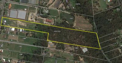 main road exposure boasting just over 16 acres of land in a prime glenorie location.