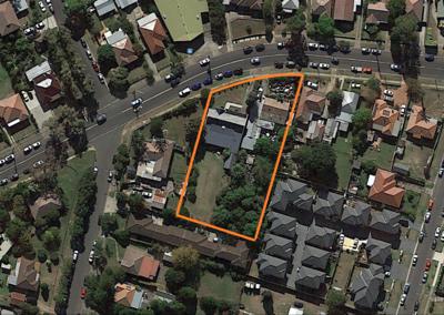 Development Site 2 properties in 1 line