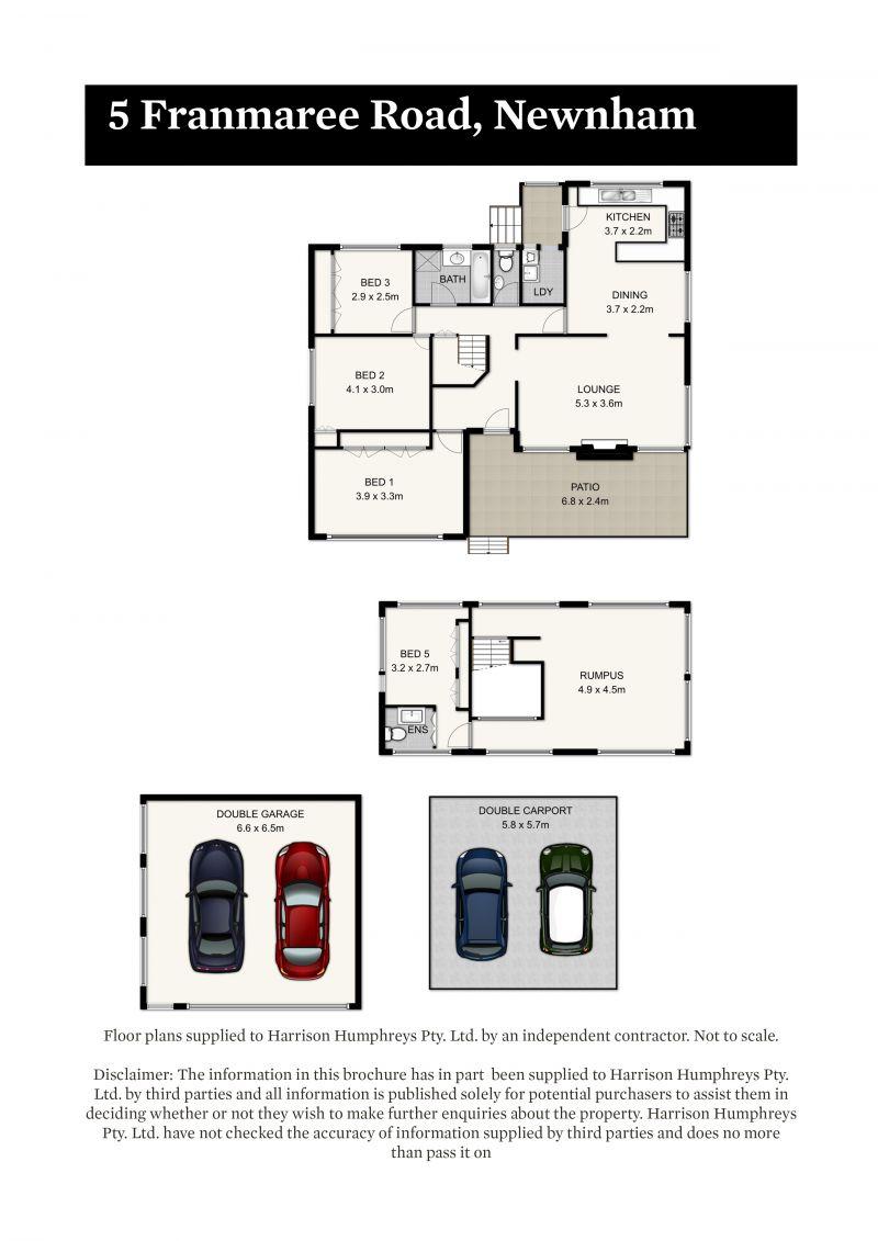 5 Franmaree Road Floorplan