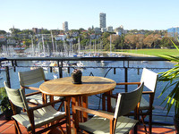 ELIZABETH BAY VIEWS 2 BED 1 BATH WHAT MORE COULD YOU WANT