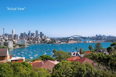 Tightly-Held Apartment with Iconic Harbour and City Views from Every Window in Coveted Darling Point Location