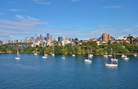 MOSMAN SPECTACULAR HARBOUR EDGE 2BED UNIT. PRICELESS VIEWS, QUALITY INCLUSIONS.