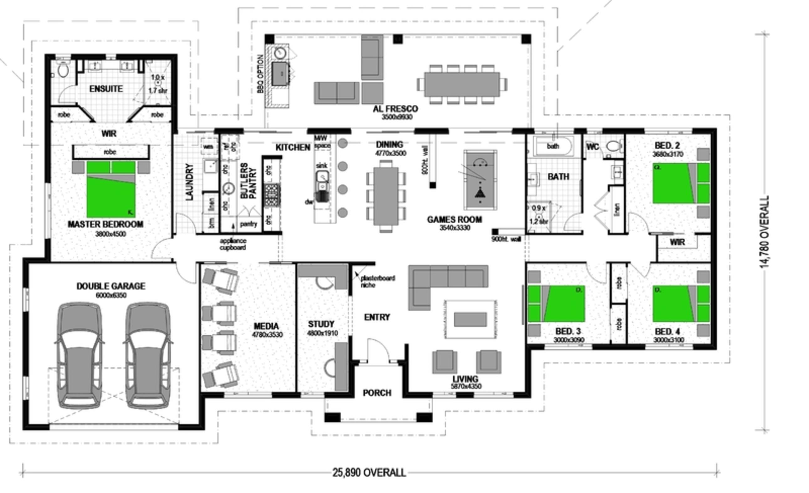 LOT 8 'HILLS OF HAIGSLEA' HAIGSLEA Floorplan