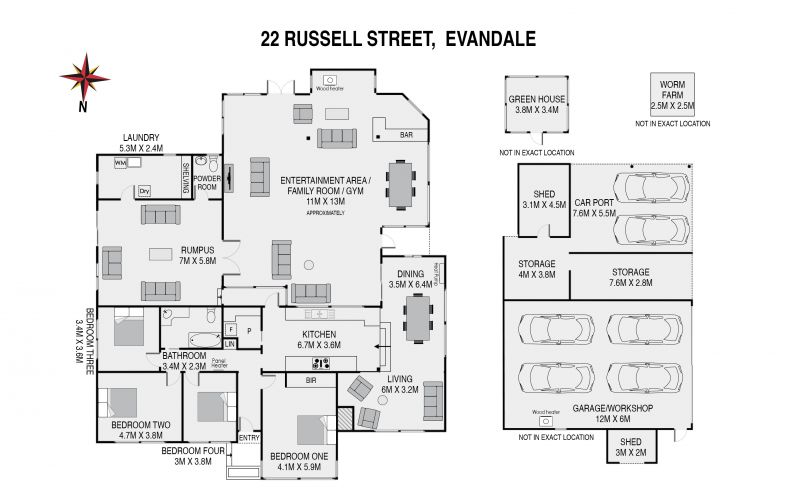 22 Russell Street Floorplan