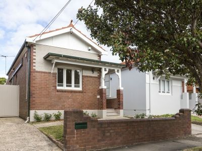 Updated period home, north-facing frontage