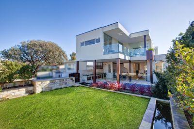 Sensational New Luxury Beachside Family Home offers Enormous Indoor & Outdoor Entertaining + Level Garden, Pool & Ocean Views