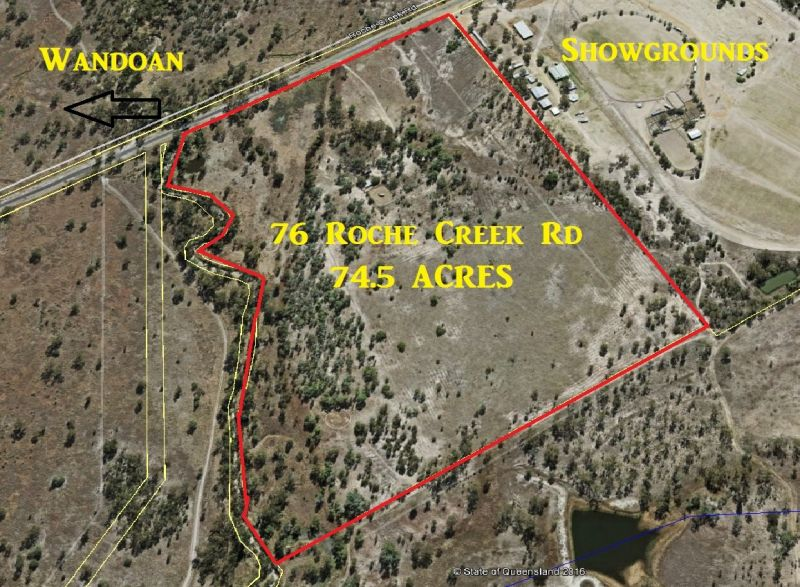 75 ACRES BESIDE SHOWGROUNDS