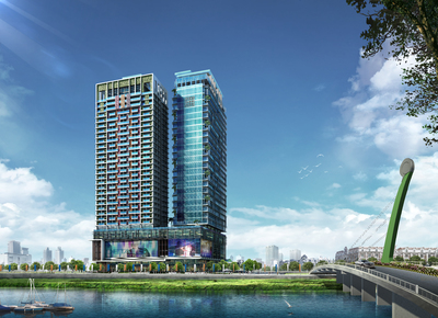 Diamond Twin Tower, Tonle Bassac, Phnom Penh | New Development for sale in Chamkarmon Tonle Bassac img 10