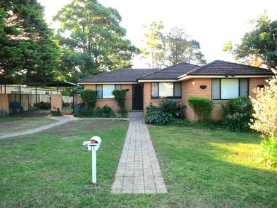 Solid 3 Bedroom Brick Home!