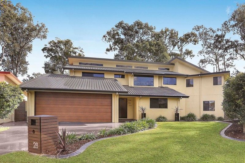 UNDER CONTRACT Admired, grandly scaled family residence in bushland setting