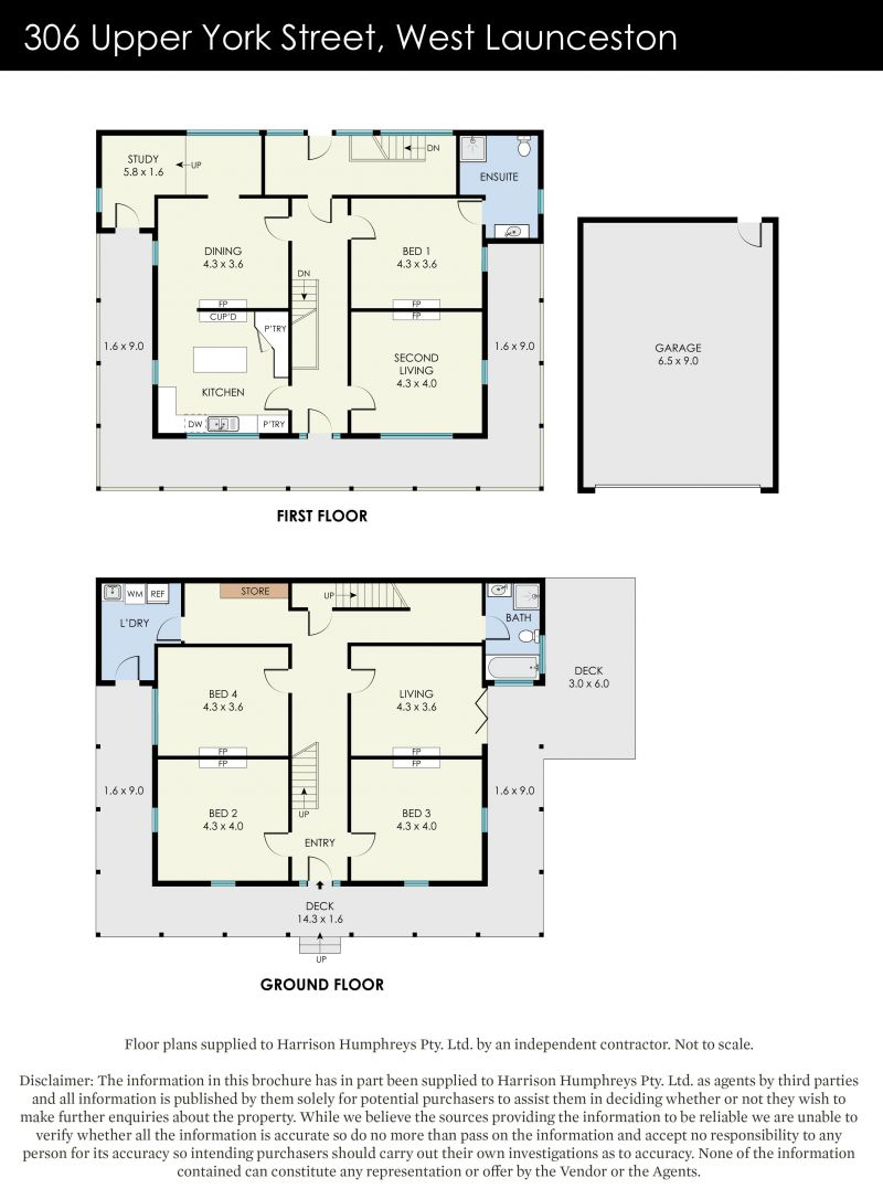 306 Upper York Street Floorplan