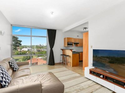 RENOVATED APARTMENT WITH PANORAMIC VIEWS FROM LIVING ROOM