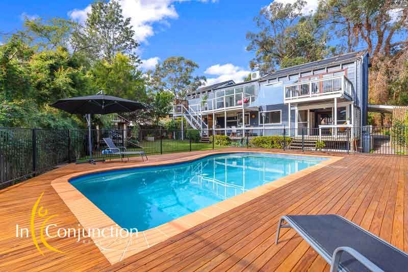 With Northerly aspect to the rear, this architecturally designed 4 bedroom home is bursting with character.