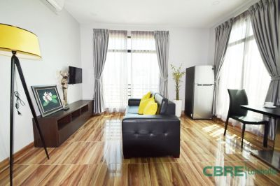 Near Chinese Embassy|Start from $450 USD, Tumnob Tuek, Phnom Penh | Condo for rent in Chamkarmon Tumnob Tuek img 0
