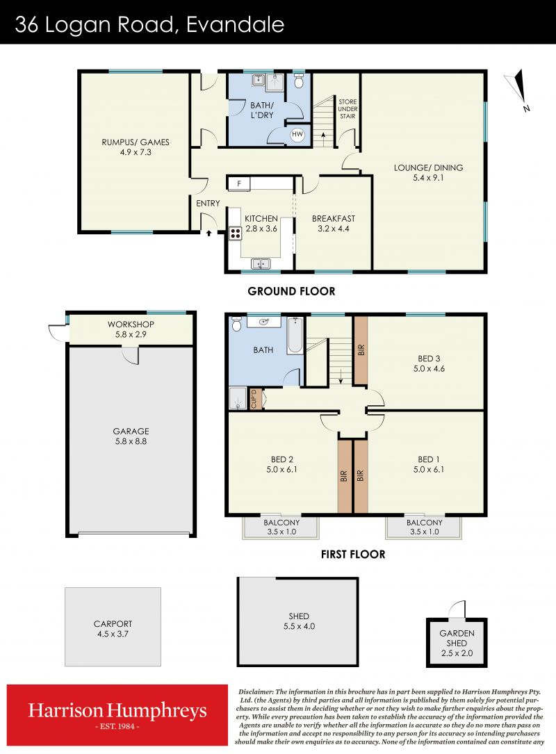 36 Logan Road Floorplan