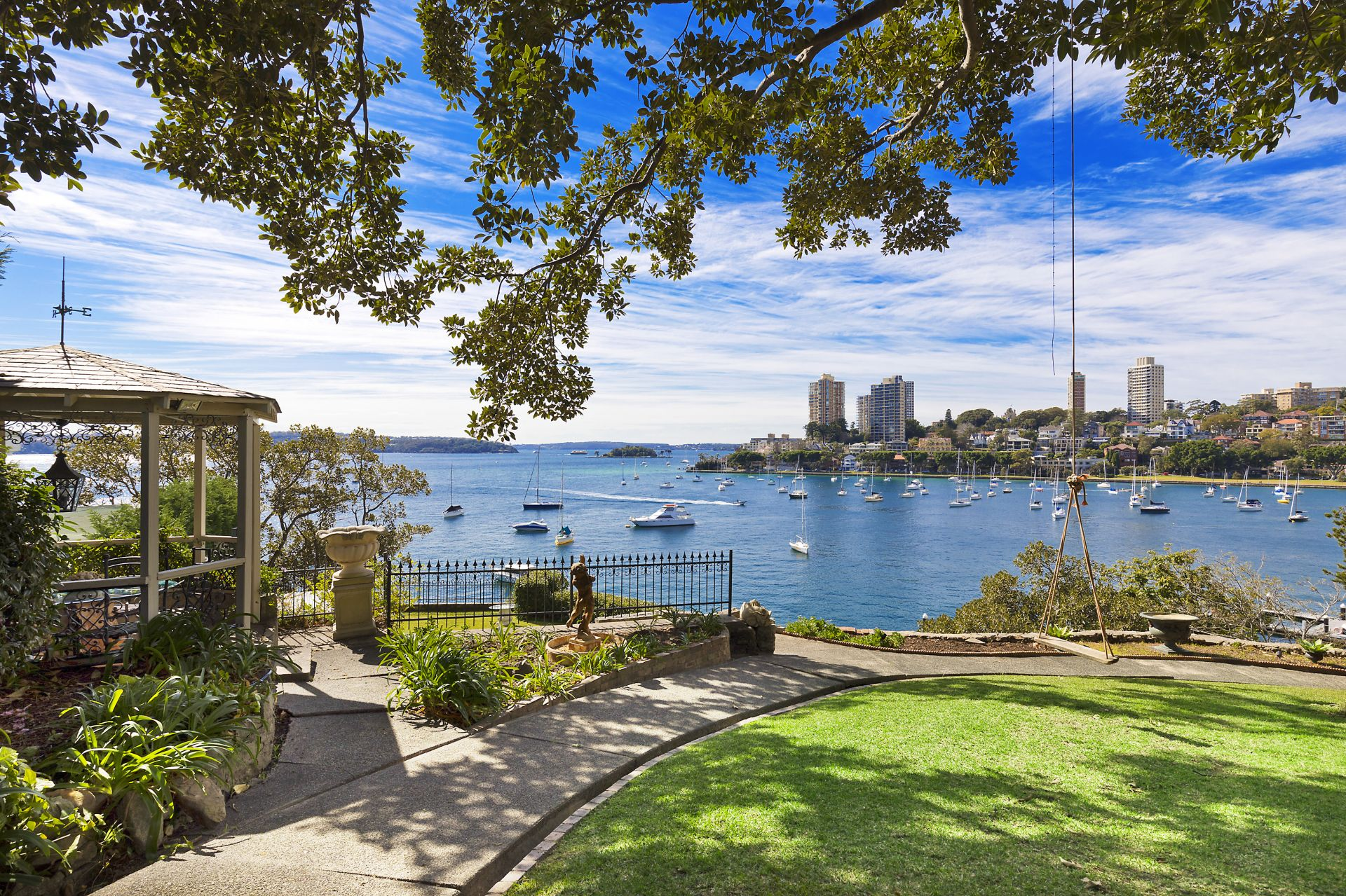 Single Family Home for Sale at 'Tresco' historic, lovingly preserved waterfront estate Elizabeth Bay, New South Wales,2011 Australia