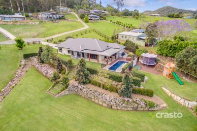 Beautifully Landscaped, Modern family home with Amazing views