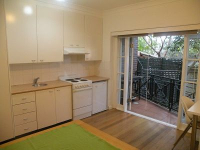 The Oxley'  Studio Apartment (enter via Roslyn St)