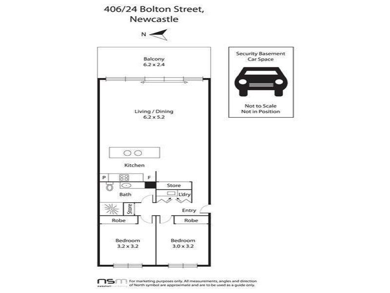 B406/24 Bolton Street, NEWCASTLE