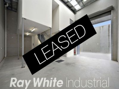 154sqm - New Warehouse Ready to Occupy