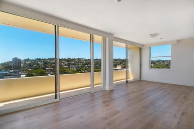 Freshly Renovated & Quiet with Outstanding Water & District views