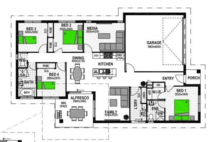 LOT 168 'PLAINLAND CROSSING ESTATE' PLAINLAND Floorplan