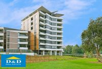 Elegant 2 Bedroom Apartment with Study. Overlooking Parkland & River. Fantastic Layout. 2 Car spaces. Stroll to Parramatta City.