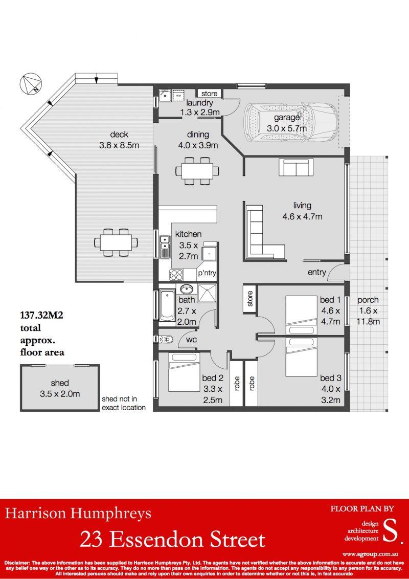23 Essendon Street Floorplan
