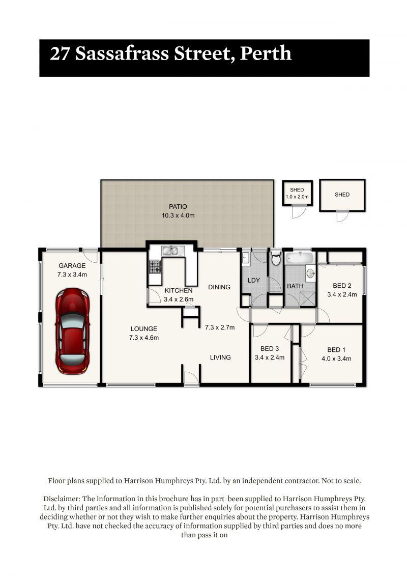 27 Sassafras Street Floorplan