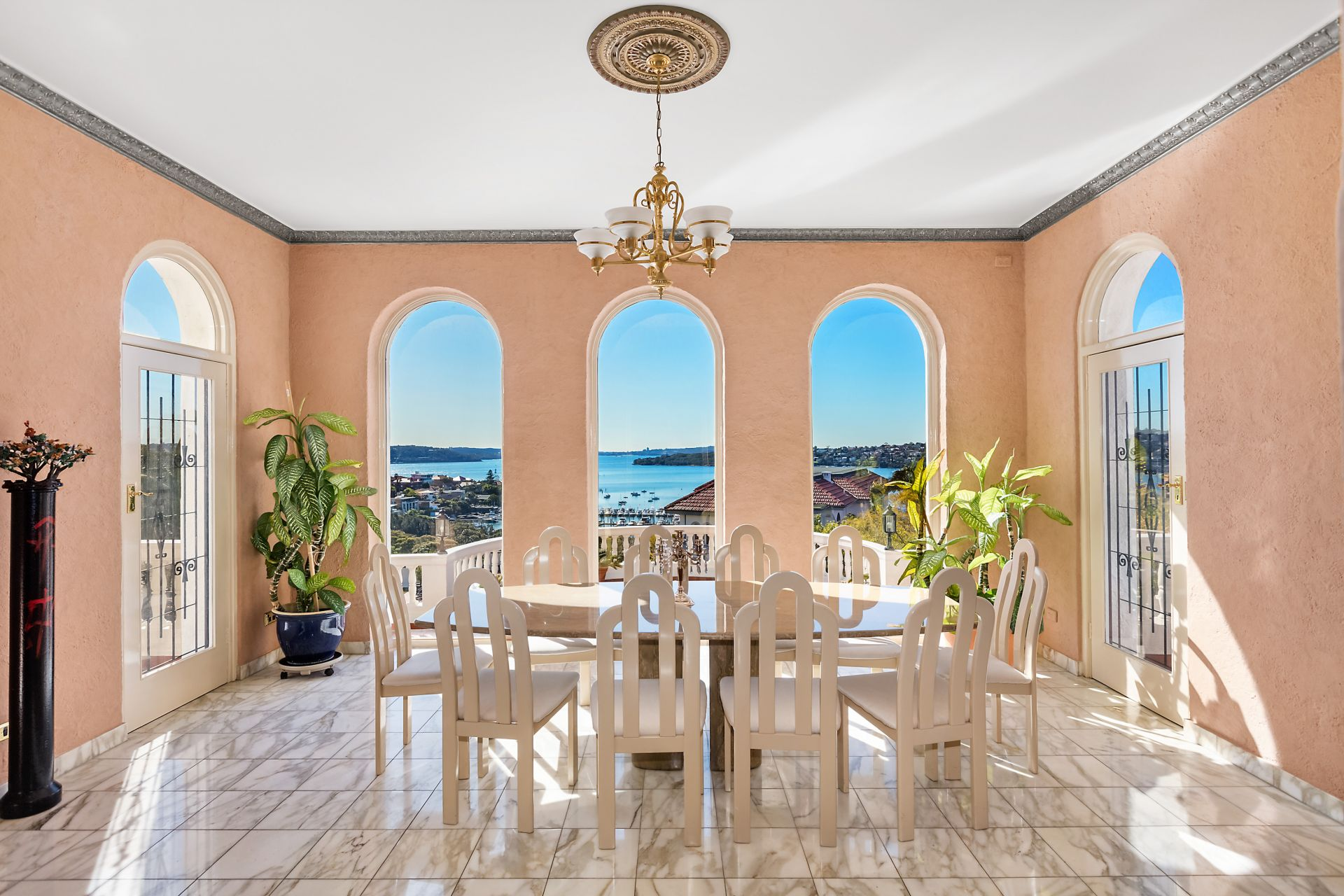 Additional photo for property listing at 'Alcooringa' - The Glamour Of Old Hollywood With Panoramic Harbour Views And Every Luxury  Bellevue Hill, New South Wales,2023 Úc