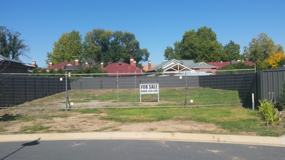 Vacant Land in Albury Central
