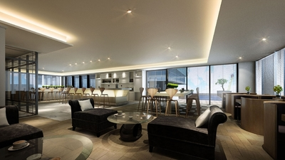 Diamond Twin Tower, Tonle Bassac, Phnom Penh | New Development for sale in Chamkarmon Tonle Bassac img 6