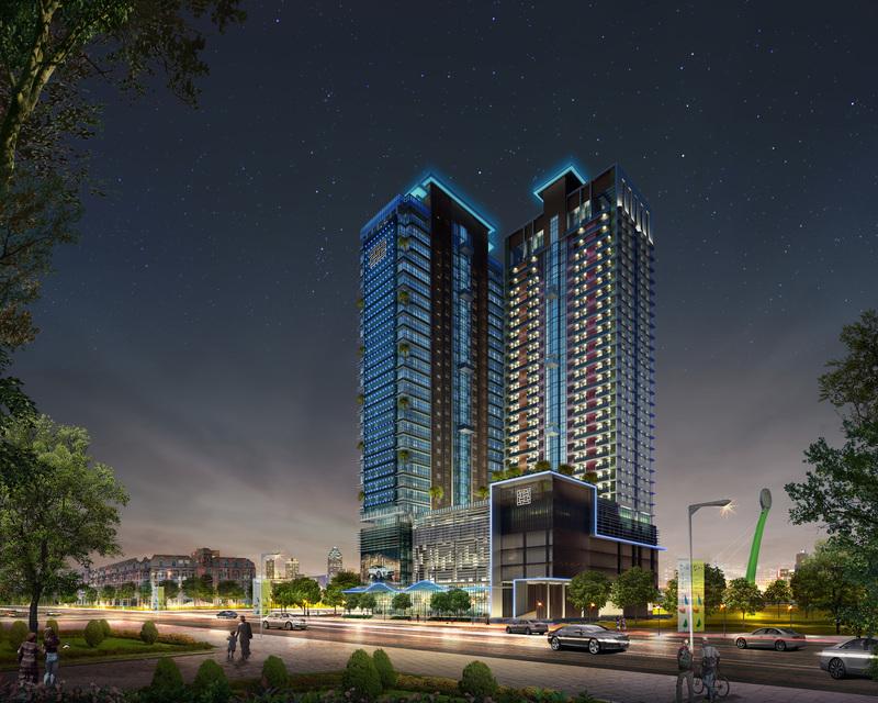 Diamond Twin Tower, Tonle Bassac, Phnom Penh | New Development for sale in Chamkarmon Tonle Bassac