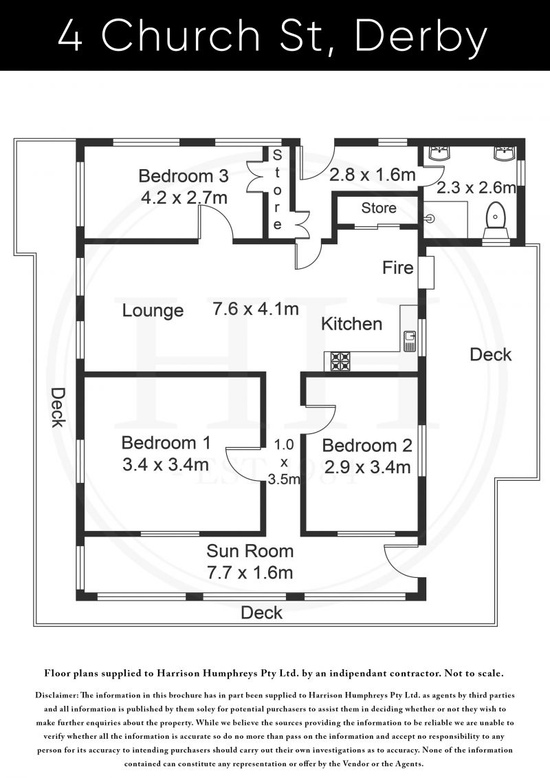 4 Church Street Floorplan