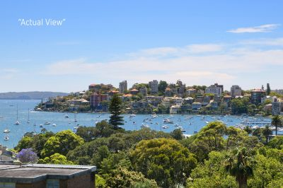 Unique Penthouse-Style Luxury Apartment/Home With Northerly Aspect & Beautiful Harbour Views