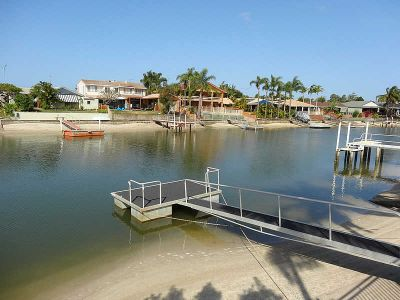 FOUR BEDROOM WATERFRONT HOME WITH POOL & PONTOON