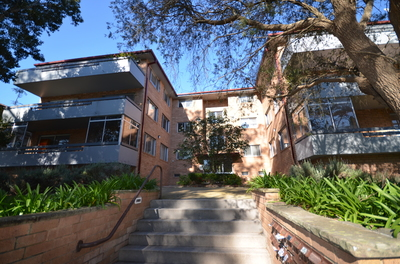 2 Bedroom Plus Study with large lockup extra storage space.