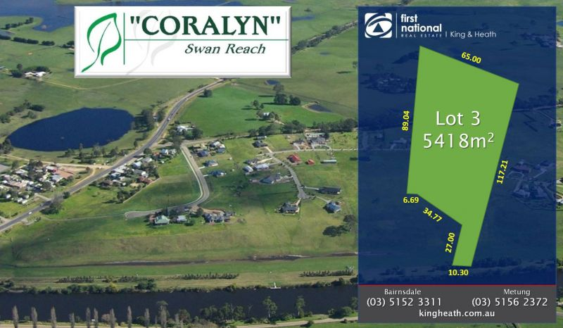 LOT 3, CORALYN DRIVE - SWAN REACH