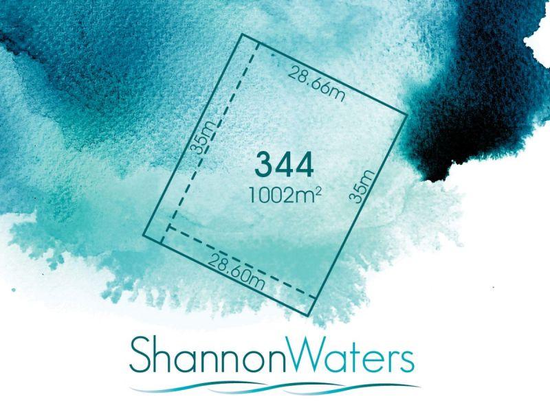 LOT 344, HERON ROAD, SHANNON WATERS
