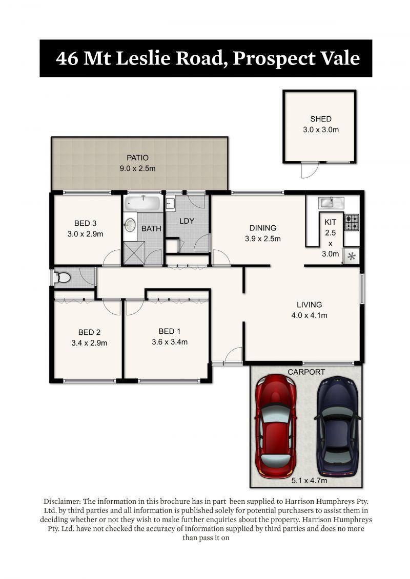 46 Mount Leslie Road Floorplan